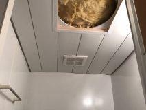 厚別青葉町 浴室天井入替